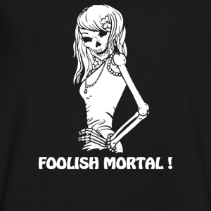 FOOLISH MORTAL - Men's V-Neck T-Shirt by Canvas