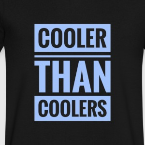 cooler - Men's V-Neck T-Shirt by Canvas