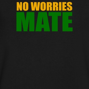 No Worries Mate - Men's V-Neck T-Shirt by Canvas