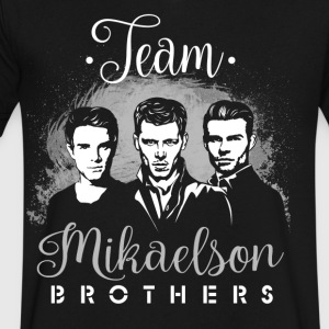 Mikaelson Brothers. - Men's V-Neck T-Shirt by Canvas