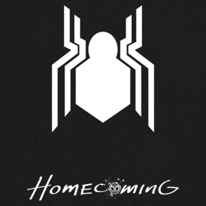 Spidy Homecoming - Men's V-Neck T-Shirt by Canvas