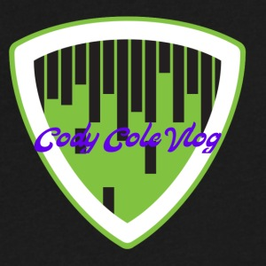 Cody Cole vlog - Men's V-Neck T-Shirt by Canvas