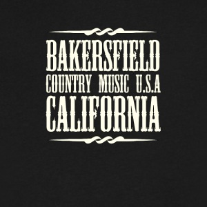 Bakersfield Country Music - Men's V-Neck T-Shirt by Canvas