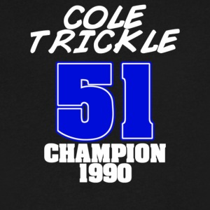 Cole Trickle Days Of Thunder - Men's V-Neck T-Shirt by Canvas