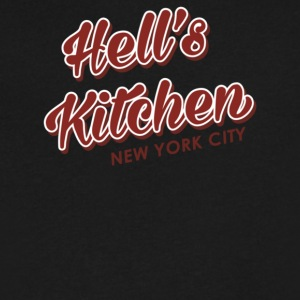 Hell s Kitchen - Men's V-Neck T-Shirt by Canvas