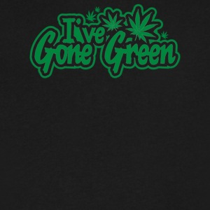 I ve Gone Green - Men's V-Neck T-Shirt by Canvas