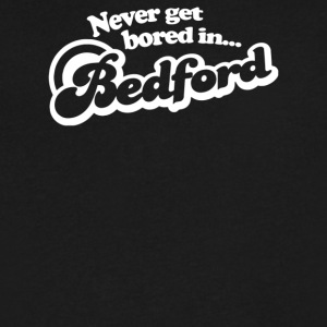 Never Get Bored In Bedford - Men's V-Neck T-Shirt by Canvas