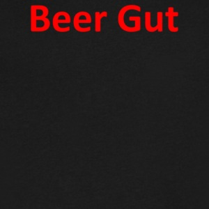 Beer Gut - Men's V-Neck T-Shirt by Canvas