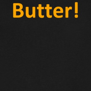 Butter - Men's V-Neck T-Shirt by Canvas