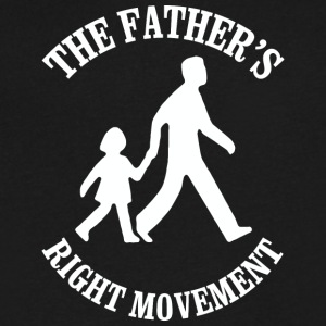 The Fathers Right Movement - Men's V-Neck T-Shirt by Canvas