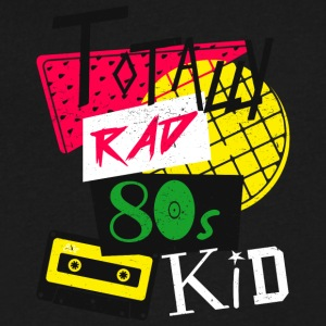 Totally Rad 80s Kid - Men's V-Neck T-Shirt by Canvas