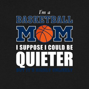 Basketball Mom Stuff - Men's V-Neck T-Shirt by Canvas