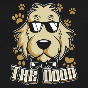 The Dood Cool - Men's V-Neck T-Shirt by Canvas