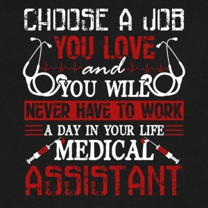 Medical Assistant Shirt - Men's V-Neck T-Shirt by Canvas
