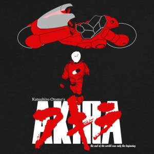 AKIRA - Men's V-Neck T-Shirt by Canvas