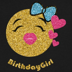 Birthdaygirl - Men's V-Neck T-Shirt by Canvas