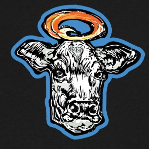 Holy Cow - Men's V-Neck T-Shirt by Canvas