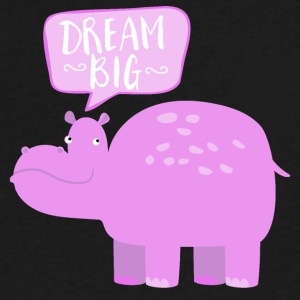 Dream big for little ones - Men's V-Neck T-Shirt by Canvas