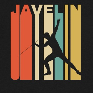 Vintage Javelin Graphic - Men's V-Neck T-Shirt by Canvas