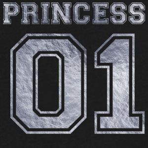 Princess_01_silver_1 - Men's V-Neck T-Shirt by Canvas