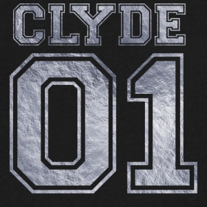 Clyde_01_silver_1 - Men's V-Neck T-Shirt by Canvas