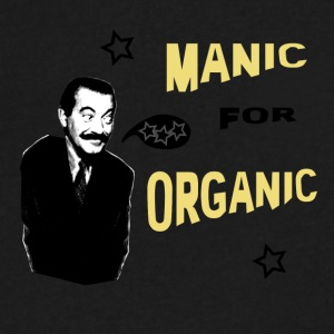 Manic for Organic v2 - Men's V-Neck T-Shirt by Canvas