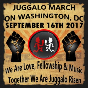 Juggalo March On Washington,DC 9-16-2017 - Men's V-Neck T-Shirt by Canvas