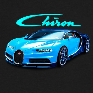 Buggati Chiron - Men's V-Neck T-Shirt by Canvas