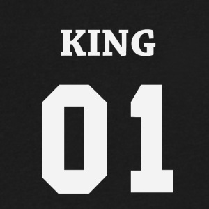 King 01 - Men's V-Neck T-Shirt by Canvas