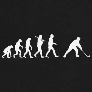 evolution - Men's V-Neck T-Shirt by Canvas