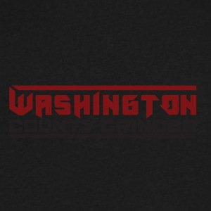 WASHINGTON COUNTY GRINDER - Men's V-Neck T-Shirt by Canvas