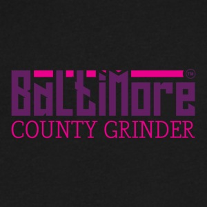 BALTIMORE COUNTY GRINDER - Men's V-Neck T-Shirt by Canvas
