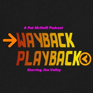 Wayback Playback - Men's V-Neck T-Shirt by Canvas