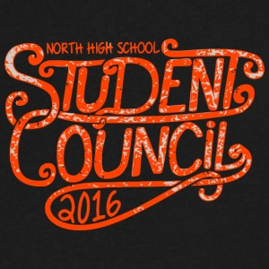 North High School Student Council 2016 - Men's V-Neck T-Shirt by Canvas