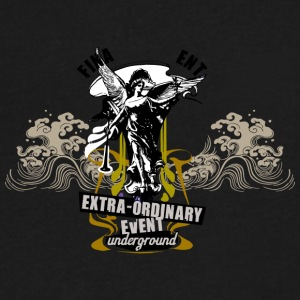 EXTRA ORDINARY - Men's V-Neck T-Shirt by Canvas