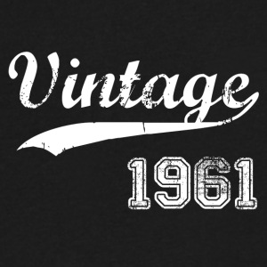 1961 - Men's V-Neck T-Shirt by Canvas