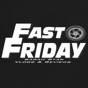 Fast Friday White - Men's V-Neck T-Shirt by Canvas