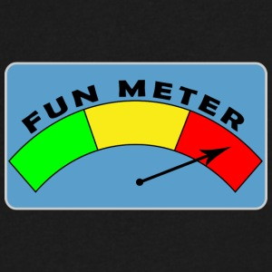Fun Meter - Men's V-Neck T-Shirt by Canvas