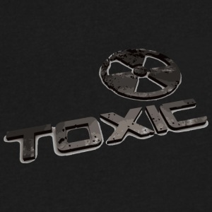 Toxic - Men's V-Neck T-Shirt by Canvas