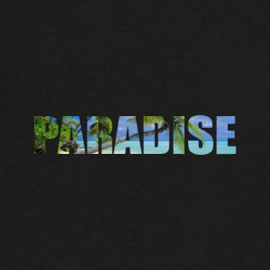 paradise - Men's V-Neck T-Shirt by Canvas