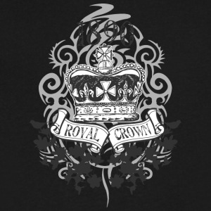 ROYAL CROWN - Men's V-Neck T-Shirt by Canvas