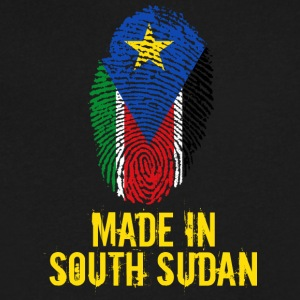 Made In South Sudan - Men's V-Neck T-Shirt by Canvas