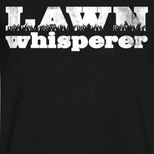 LAWN WHISPERER - Men's V-Neck T-Shirt by Canvas