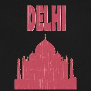 DELHI City - Men's V-Neck T-Shirt by Canvas