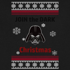 Join The Dark Christmas - Men's V-Neck T-Shirt by Canvas