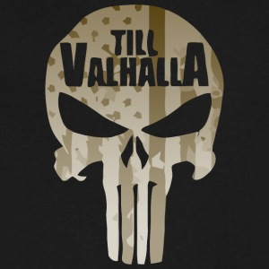 TILL VALHALLA - Men's V-Neck T-Shirt by Canvas