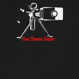 Say Cheese Sniper - Men's V-Neck T-Shirt by Canvas