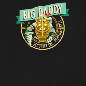 Big daddy - Men's V-Neck T-Shirt by Canvas