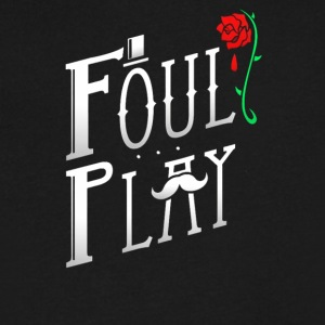 Foul Play - Men's V-Neck T-Shirt by Canvas