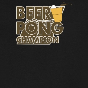 Beer Pong - Men's V-Neck T-Shirt by Canvas